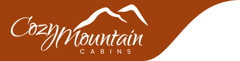 Cozy Mountain Cabins Header Logo